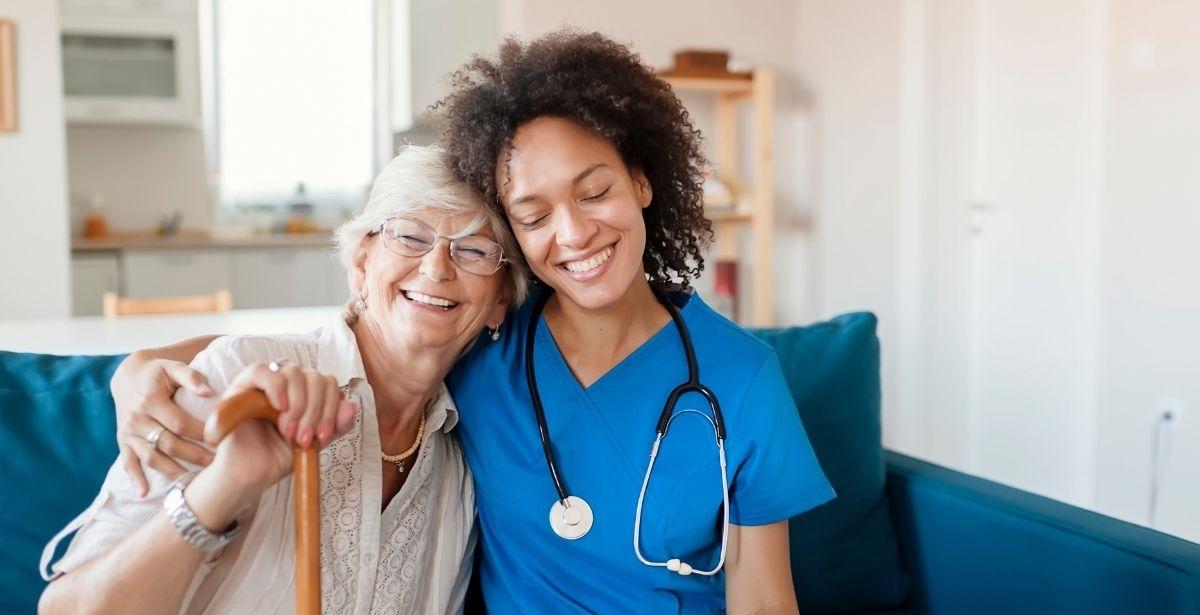 nurse in nursing home